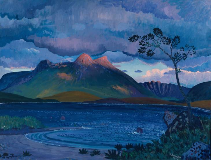 Arenig, North Wales 1913 by James Dickson Innes 1887-1914