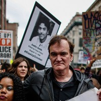 Quentin-Tarantino-Joins-NYC-Police-Brutality-Protest