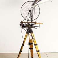 William-Kentridge_Sculpture_bicycle-wheel