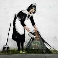 BanksyCleaningUp