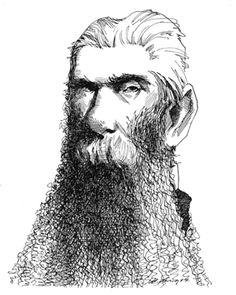 Herman-Melville_dibujo_Levine-2