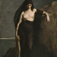 Mengin, Auguste Charles; Sappho; Manchester Art Gallery; http://www.artuk.org/artworks/sappho-205579