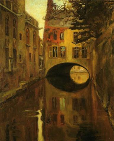 Rivera_Casa-sobre-el-puente_1909