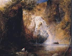 Samuel-Palmer_the-waterfalls-pistil-mawddach-north-wales