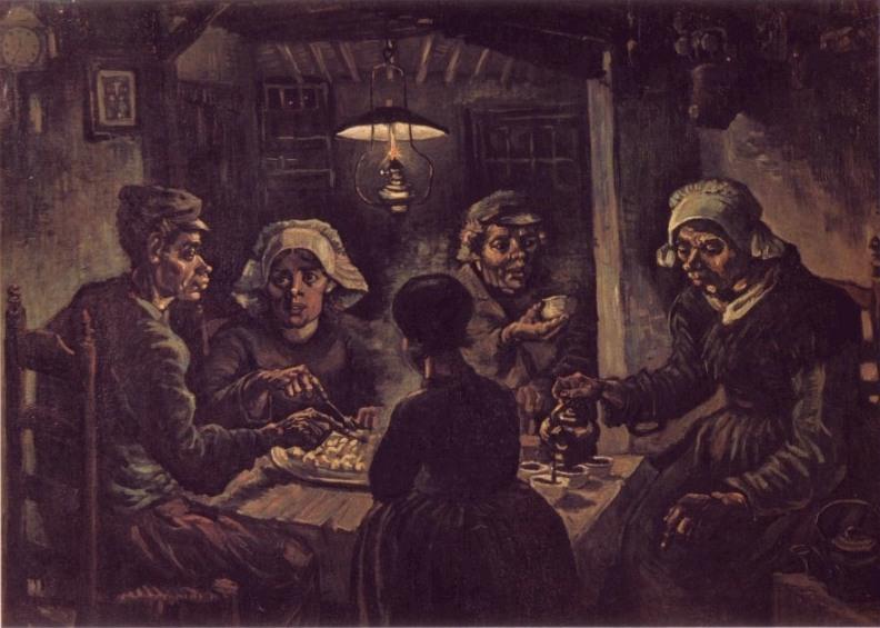 Van-Gogh_Los-comedores-de-patatas
