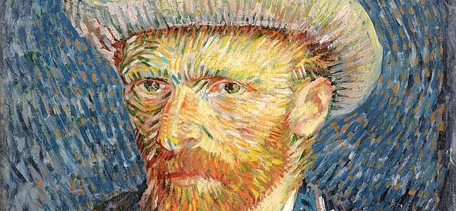 DOCU_GRUPO A handout photograph shows Self-portrait, by Vincent van Gogh