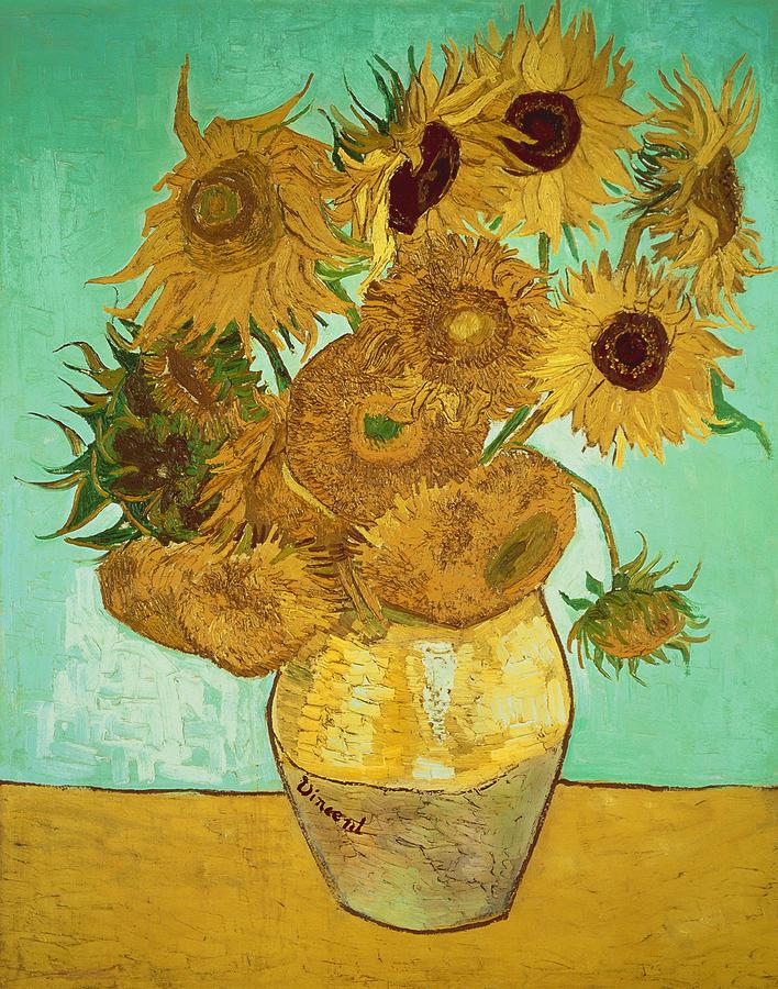 Van-Gogh_sunflowers