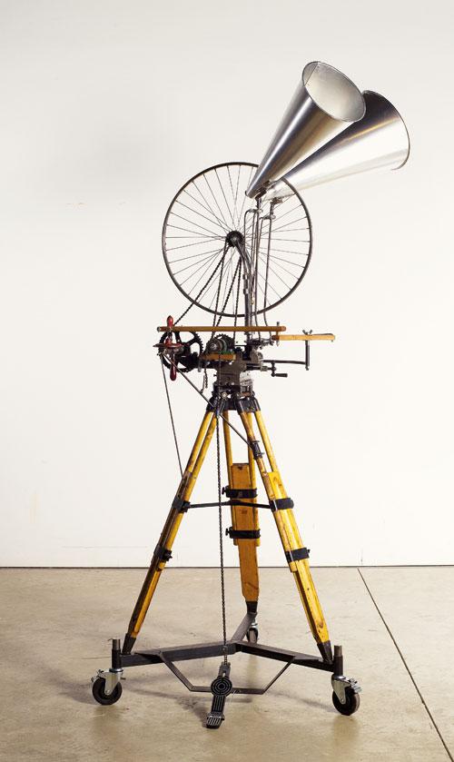 William-Kentridge_Sculpture_bicycle-wheel