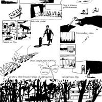 Francis Alÿs, según el novelista gráfico Francois Olislaeger (revista Frente).