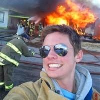 selfie-incendio