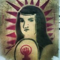 Graffiti en la ciudad de Puebla.